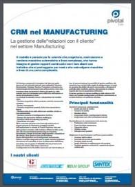 Pivotal nel manufacturing
