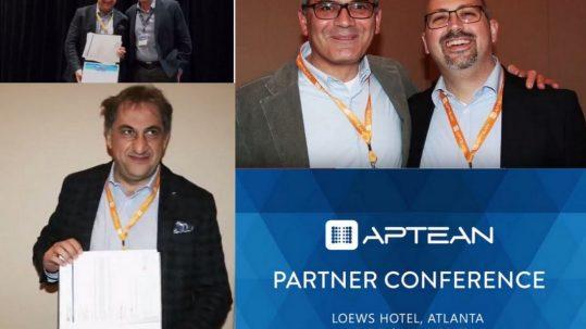 Aptean partner Award - pivotal italia