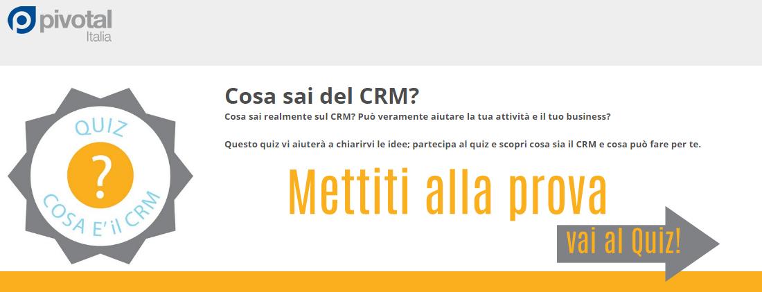 Conosci il CRM Quiz